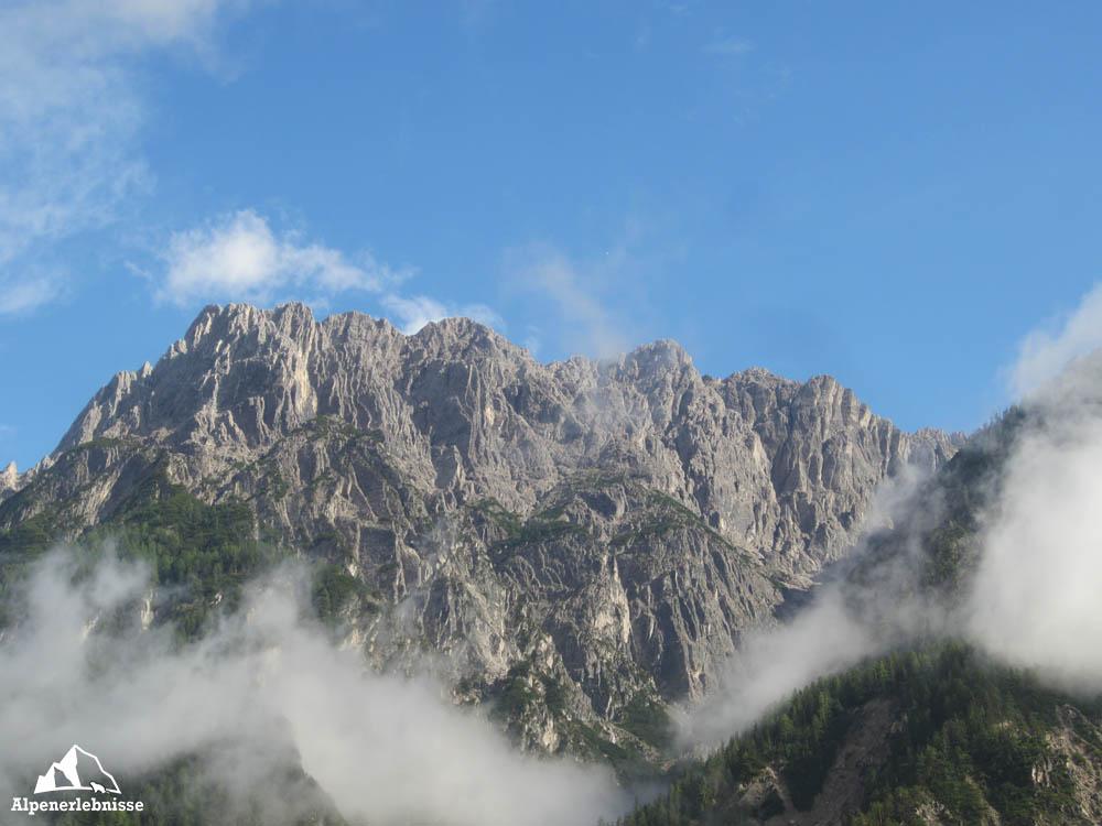 Bergtour auf den Spitzkofel: Unterwegs am Leisacher Hausberg