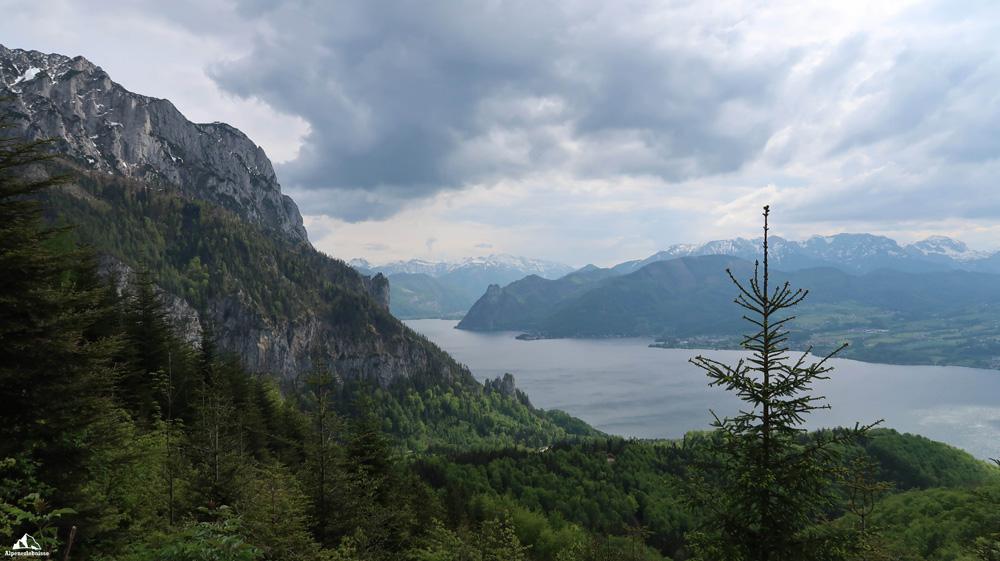 Mit dem Mountainbike von Traxenbichl (Almtal) nach Gmunden