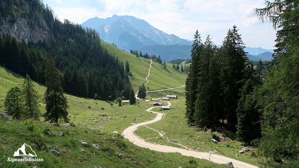 Hüttentour rund um den Königssee im Nationalpark Berchtesgaden